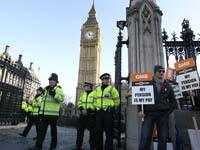 Забастовка госслужащих в Англии