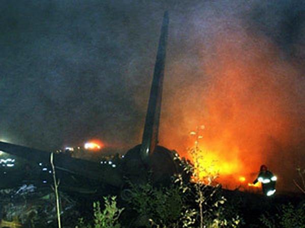 Самолет упал в мексиканском аэропорту