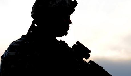 Военнослужащий НАТО в Афганистане. Фото: EPA