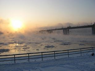 Северные реки не могут заснуть