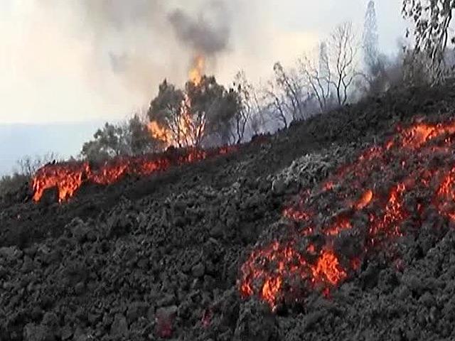 На Гавайях началось извержение вулкана