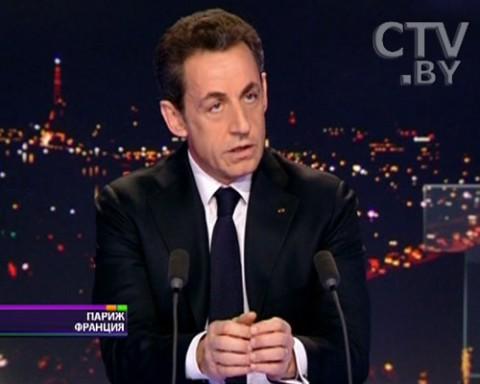 Николя Саркози, президент Франции