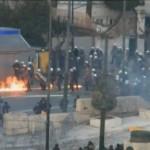 Протесты в Афинах. Кадр Euronews