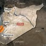 Сирия и Ливан. Карта: Euronews