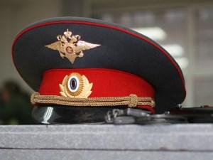 Фуражка российского полицейского. Фото: newsru.com
