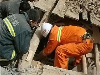 На северо-западе Китая произошло землетрясение магнитудой 5,8