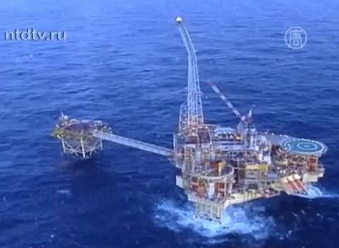 Платформа Elgin, Северное море. Кадр NTDTV