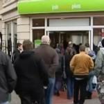 Безработные в Великобритании. Кадр Euronews