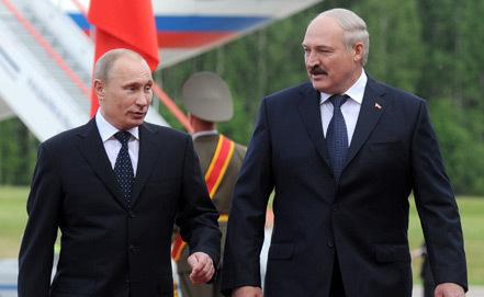 Владимир Путин и Александр Лукашенко. Фото: oko-planet.su