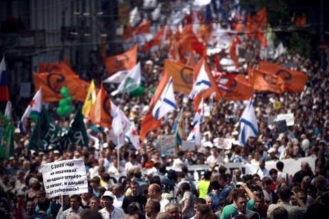 Марш миллионов в Москве 12 июня 2012. Фото: ridus.ru