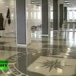 Холл штаб-квартиры ЦРУ. Кадр RT
