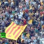 Каталония требует независимости. Кадр RT