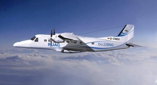 Самолёт Do228NG, с которого передавались данные с применением квантовой криптографии