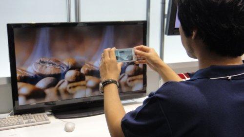 Технология передачи данных с телевизора в телефон от Fujitsu