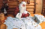 Дед Мороз читает почту. Фото: uniteller.ru