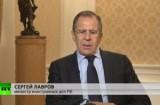 Сергей Лавров в эфире RT