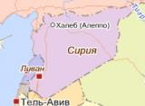 Карта Сирии (Яндекс Карты)