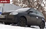 Машина, где было найдено тело Ирины Кабановой. Кадр Правда.ру