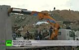 Израиль строит стену на Голанских высотах. Кадр RT
