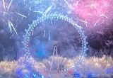 Новогодние фейерверки в Лондоне. Кадр NTDTV