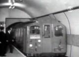 Кадр кинохроники о лондонском метро. NTDTV