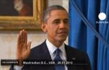 Вторая инаугурация Барака Обамы. Кадр Euronews