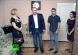 Путин в Крымске в январе 2013-го. Кадр RT