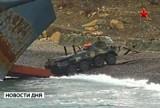 Российские морские военные учения. Кадр ТВ Звезда