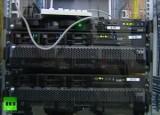 Серверное оборудование Лаборатории Касперского. Кадр RT