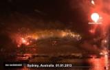 Фейерверки в Сиднее. Кадр Euronews