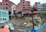 Дома в Боливии, разрушенные оползнем. Кадр NTDTV