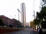 Здание корпорации Pemex в Мехико. Кадр NTDTV