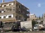 Место теракта в Дамаске. Февраль 2013-го. Кадр NTDTV