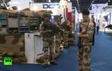 Выставка вооружений в ОАЭ. Кадр RT