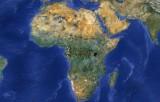 Африка на картах Google Maps
