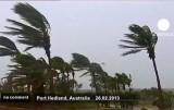 Циклон Расти ударил по западу Австралии. Кадр Euronews