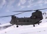 Эвакуационный вертолёт в Северной Ирландии. Кадр NTDTV