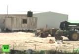 Поселение израильских бедуинов. Кадр RT