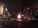 В Неаполе сгорел Музей науки. Кадр RT
