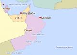 Оман на картах Яндекса