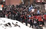 Протесты студентов против повышения платы за образование в Квебеке, Канада. Кадр RT