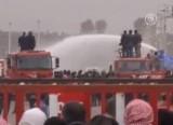 Турецкая полиция подавляет протест сирийских беженцев. Кадр NTDTV
