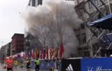 Взрыв на марафоне в Бостоне. Кадр из видео очевидца
