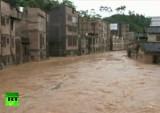 Наводнение в Китае. Кадр RT