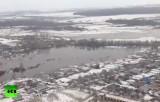 Паводок затопил низины в Нижегородской области. Кадр RT