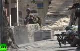 Израильские солдаты на границе сектора Газа. Кадр RT