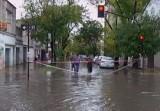 Аргентинская Ла-Плата ушла под воду. Кадр NTDTV