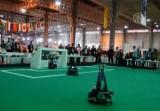Чемпионат по робо-футболу в Иране. Кадр NTDTV