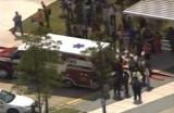 Раненые в техасском колледже после жестокого нападения. Кадр RTVi