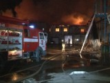 Пожар на кондитерской фабрике в Майкопе. Фото: sk-news.ru